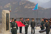 Китайские военные на Стене