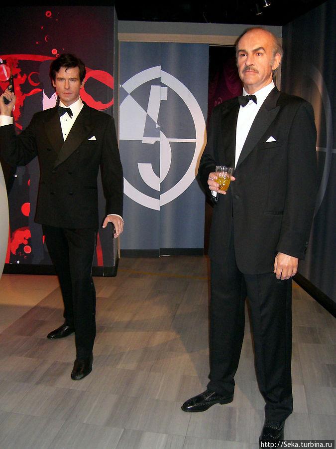 Знаменитые агенты 007