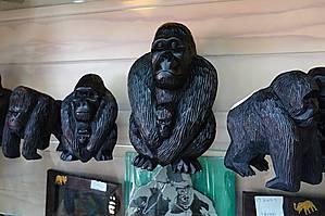 Сувенирные гориллы