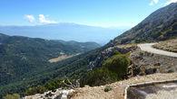 Дорога на вершину Бабадага.
