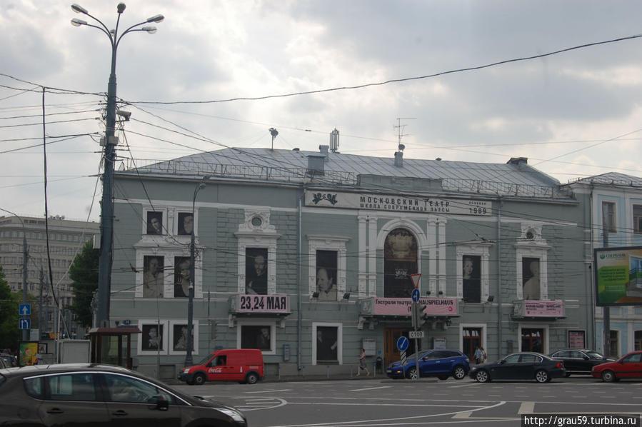 Здание бывшего ресторана