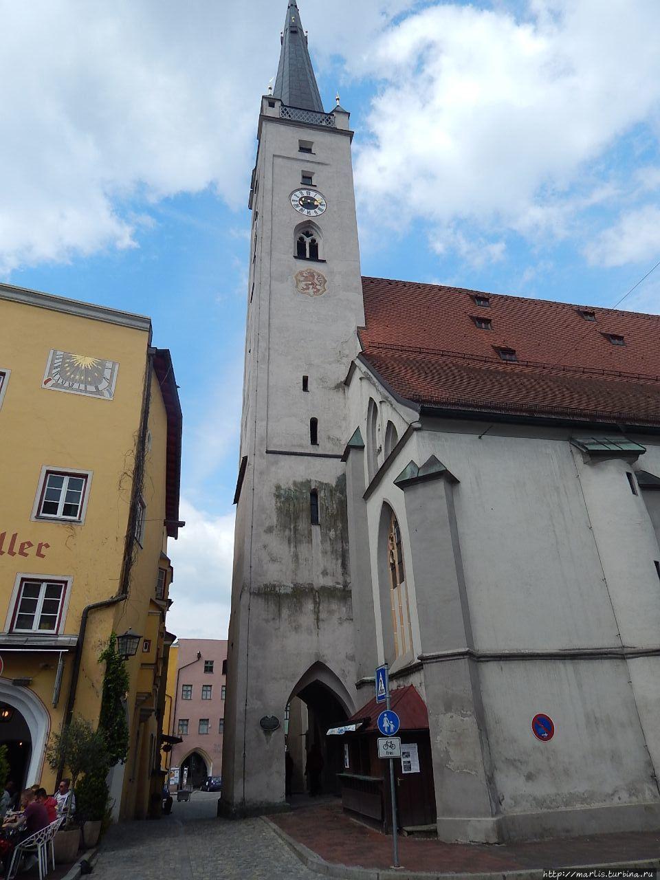 Фруенкирхе, церковь пресв
