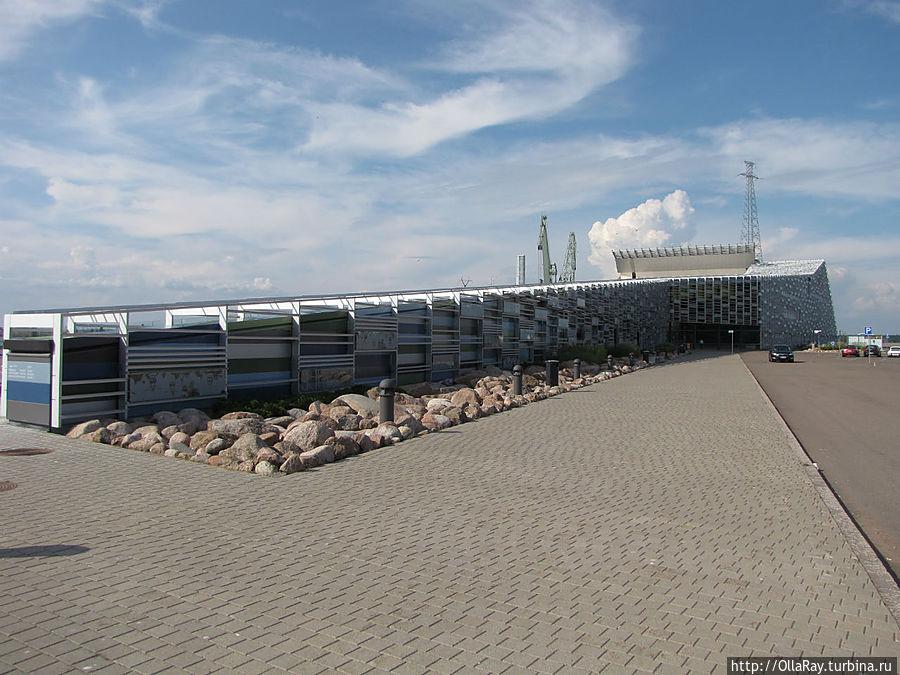 Здание морского центра
