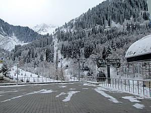 Нижняя станция канатной дороги