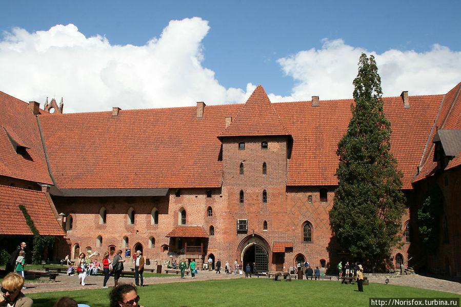 Двор Среднего замка