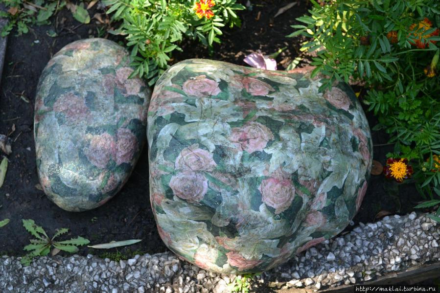 Камни расцвели.