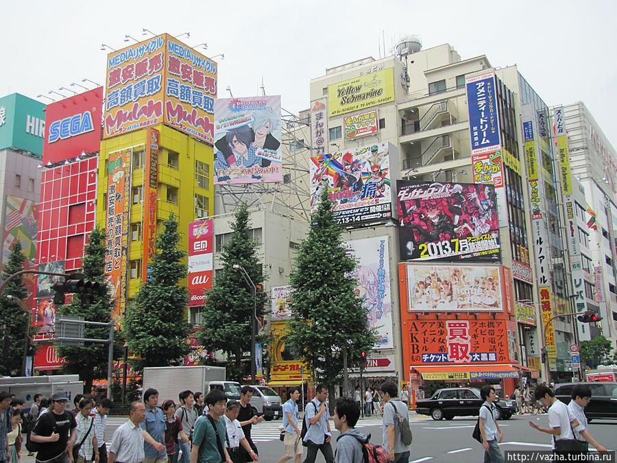 японские кварталы фото