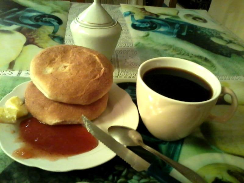 это весь завтрак на 1 чел.