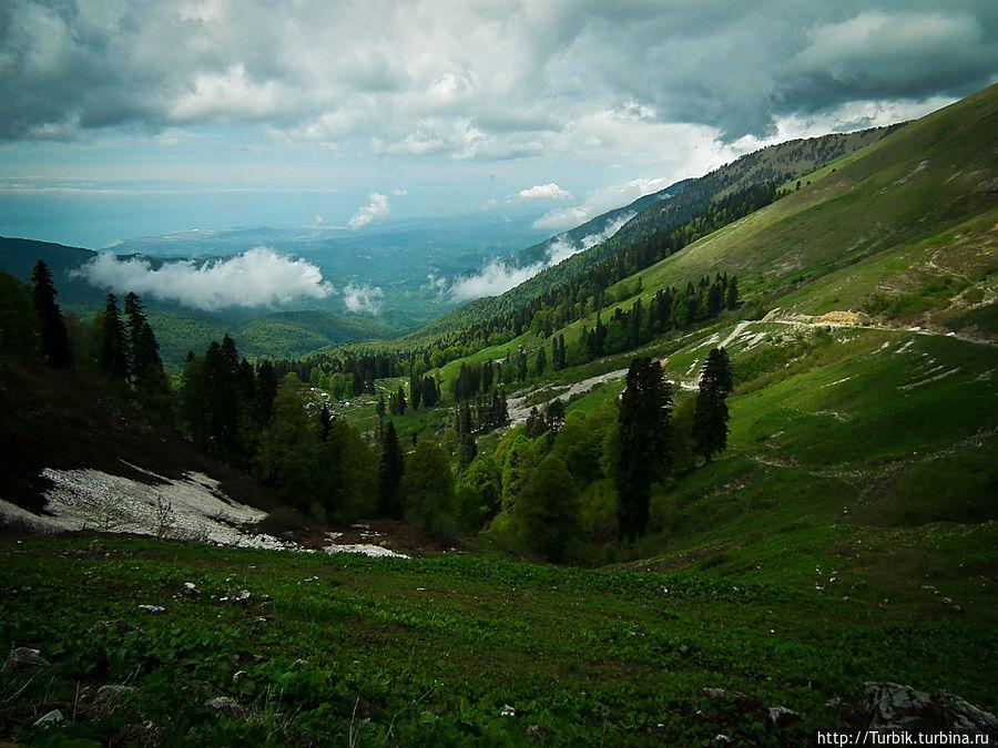 Иду туда, не знаю куда Цандрипш, Абхазия