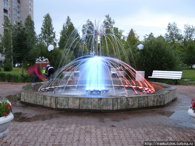 Александровский парк, фон