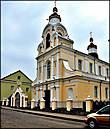 Церковь Св Бориса и Глеба — оборонного типа 1517-1519 гг. на фундаменте храма 12 в.