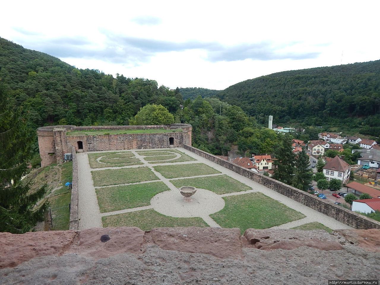 дворцовые сады