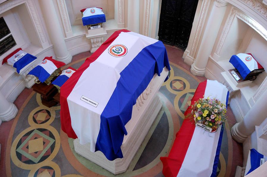 Саркофаг президента Лопеса