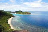 Вид с утеса острова Дравага