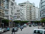 Нормальный такой европейский вид И отель прямо по курсу с вполне европейским названием Hôtel Tanjah Flandria