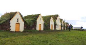 Дома исландцев 19 века