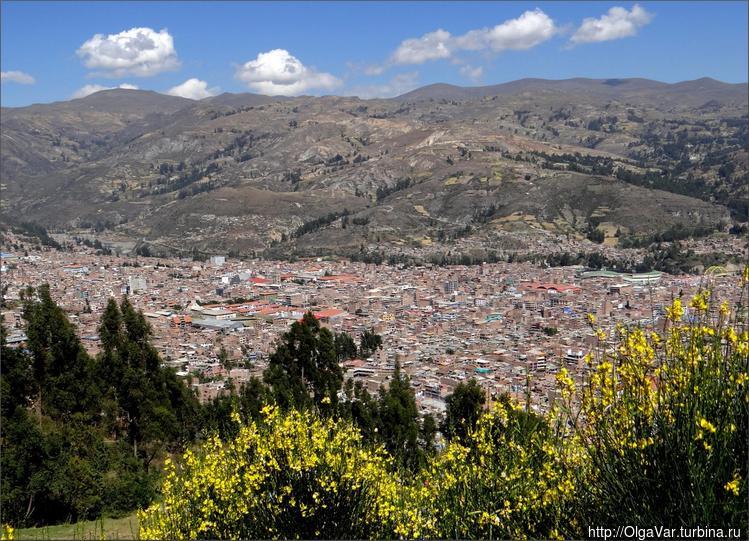 Уарас в долине Кальехон-д
