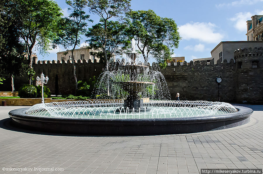 Ичери-Шехер — Старый Баку Баку, Азербайджан
