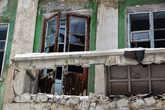 Многие дома в городе разрушены или близки к этому. В городе можно снимать фильмы ужасов или играть в сталкера.