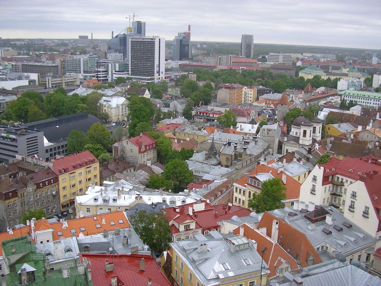 Моя столица с разных ракурсов. Таллин, Эстония