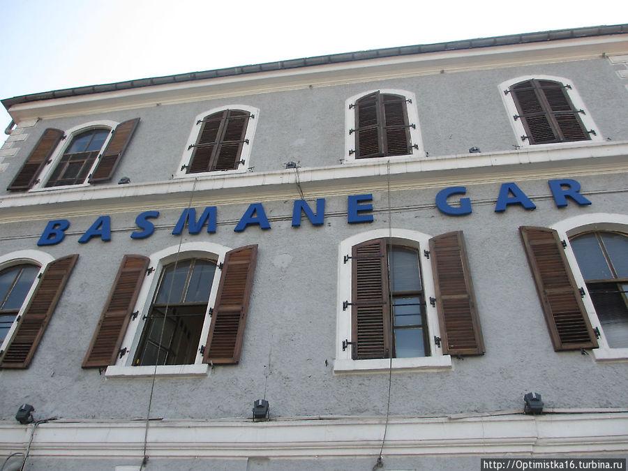 Здание вокзала Басмане