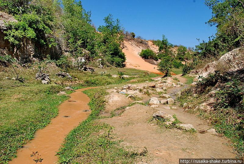 Нереальные пейзажи Муй-Не, Вьетнам