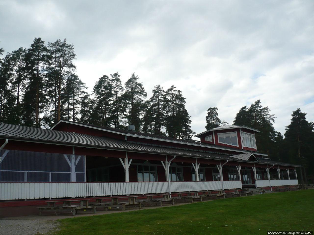 Небольшая прогулка по поселку гребцов Сулкава, Финляндия
