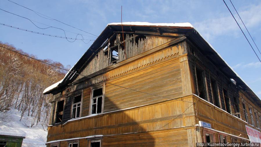 Исторические дома в Петропавловске на улице Красинцев