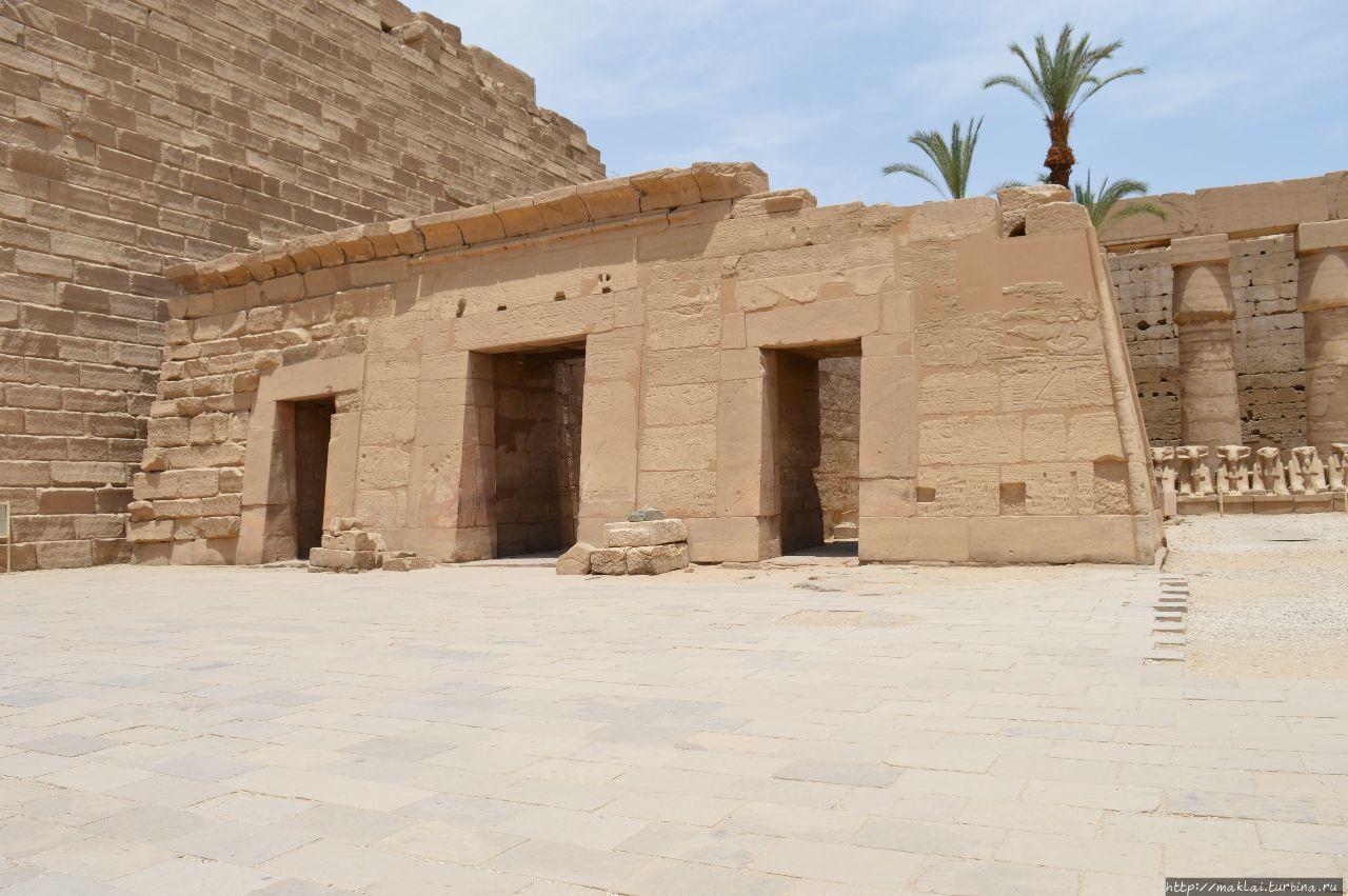 Часовня Сети II. Луксор, Египет