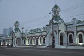 Историческое здание железнодорожного вокзала Перми после недавней реконструкции