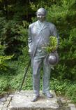 Бремен. Памятник Людвигу Кнопу в Кнопс парке.