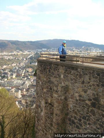Вид на город из замка Боссельштайн