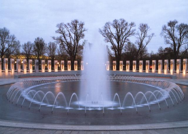 Мемориал Второй Мировой.