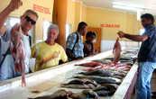 На рыбном рынке города Нади можно проводить экскурсию