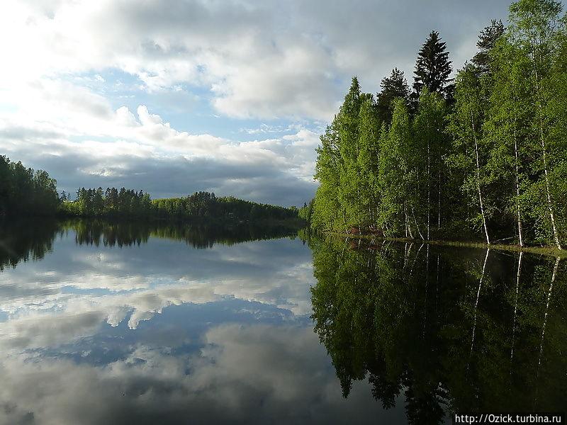 Царица озер Ювяскюля, Финляндия
