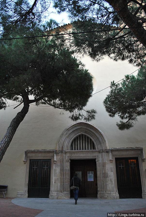 Церковь Сан Рома (Església de Sant Romà).