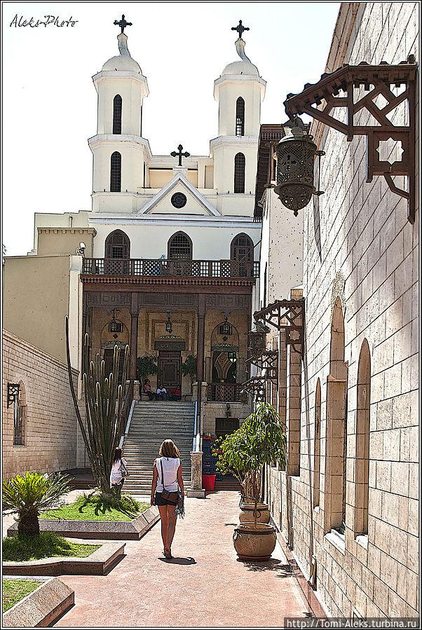 Церковь Святого Сергия Египет
