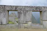 Виды из окна в городе Мачу Пикчу
