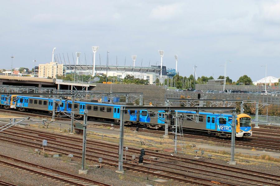 подъездные пути к Flinders Street Station