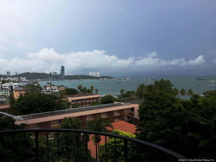 Вид с балкона 7 этажа