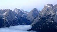 Это обычная тренировка в горах. За 5 дней до соревнований мне нужно хорошенько разбегаться.