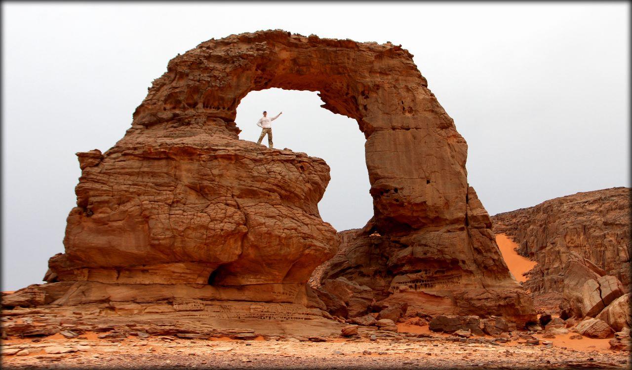 Алжирская Сахара, день второй — по долинам и по взгорьям Тассилин-Адджер Национальный Парк, Алжир