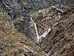 водопады в Ущелье реки Азау
