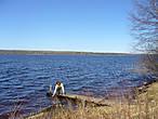 Юксовское озеро в селе Родионово