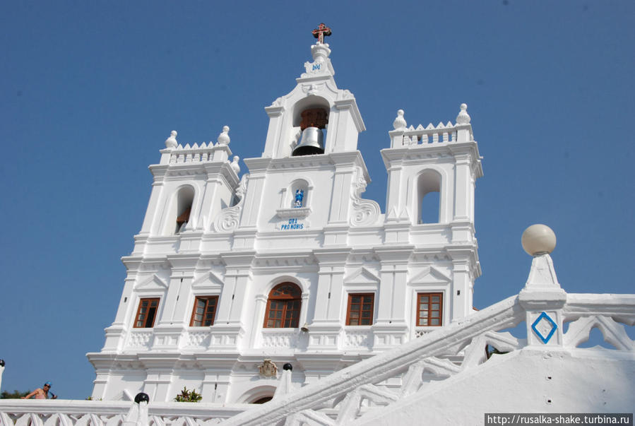 Церковь Непорочного Зачатия Панаджи, Индия