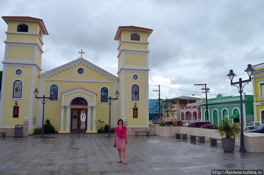 Один из провинциальных городков