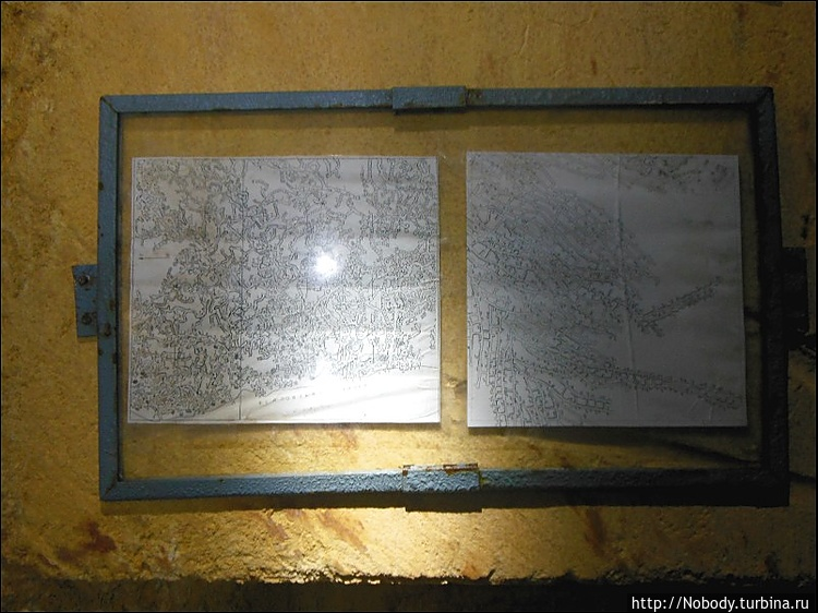 Карта катакомб Нерубайско