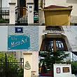 Интересная особенность города — практически каждый большой дом имеет собственное название. Наследие