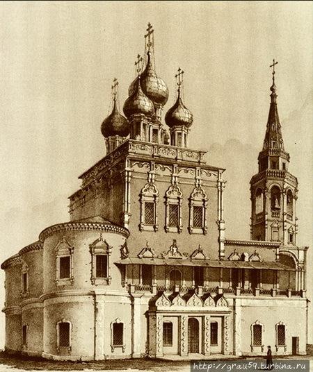 Церковь Воскресения Христова в Кадашах (фото из Интернета)