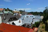 вид на город од Старого замка